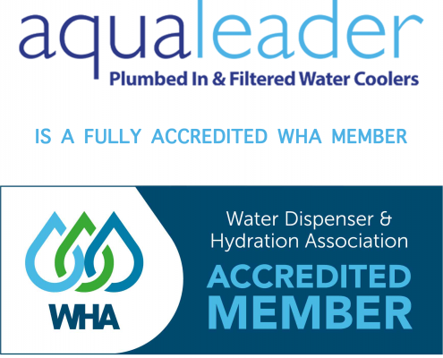 Aqualeader is a WHA Accredited Member, The Water Dispenser & Hydration Association (EDWCA) and British Water Cooler Association (BWCA)