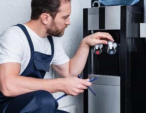 Water cooler servicing - Aqualeader Ltd