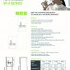 Winix S600 Desktop Water Cooler spec sheet