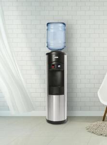 Oasis Quartz floor standing bottled water cooler lifestyle